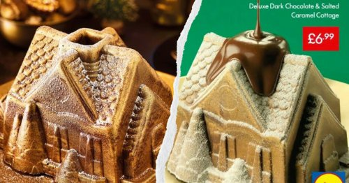 Lidl Is Bringing Back Their Melting Chocolate Cottage For Christmas 2020
