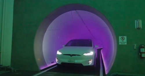 Watch The Boring Company's first public tunnel in action — Musk Reads