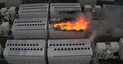 Tesla's Megapack batteries in Victoria burned for three days straight