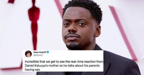 Daniel Kaluuya's Oscars Acceptance Speech Inspired The Best Reaction GIF Of All Time