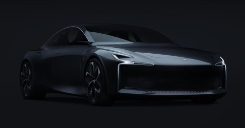 This hydrogen-powered sedan looks sleek as hell, but it'll cost you an arm and leg