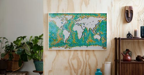 Lego's new Art World Map is an 11,000-piece thing of beauty
