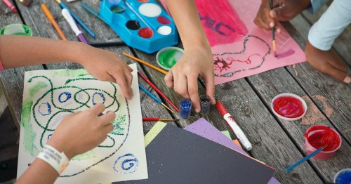 How To Store All Those Absolutely ~Necessary~ Art Supplies Your Kid Won't Let Go Of