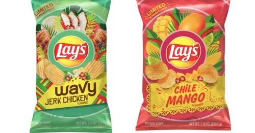 Lay's Is Spicing Up The Summer With Chip Flavors Like Chile Mango & Jerk Chicken