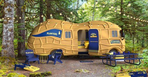 Score A Stay In A Giant Peanut RV With This $4 All-Inclusive Camping Experience