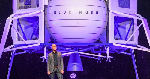 NASA blesses Jeff Bezos' Blue Origin with launch contract