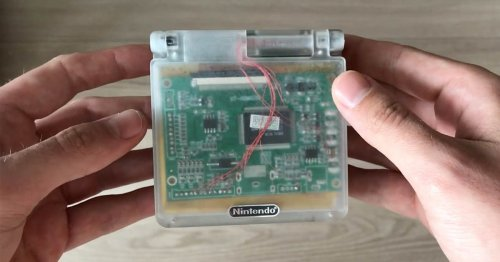 Someone's made a Nintendo Wii you can put in your pocket
