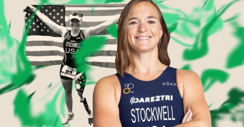 The Unexpected Way Triathlete Melissa Stockwell's Preparing For The 2021 Paralympics