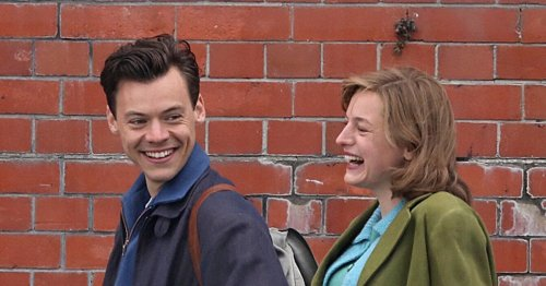 My Policeman: Every Photo of Harry Styles and Emma Corrin Having a Ball