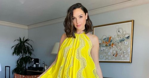 Gal Gadot Found A Slip Dress You Can Wear To Weddings, Dinner Parties, & More