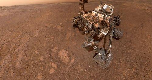 Watch NASA's Curiosity rover explore an important Martian landmark
