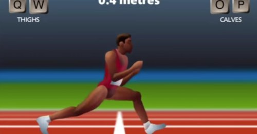 Even after 60 hours of training an AI still couldn't break the 'QWOP' world record