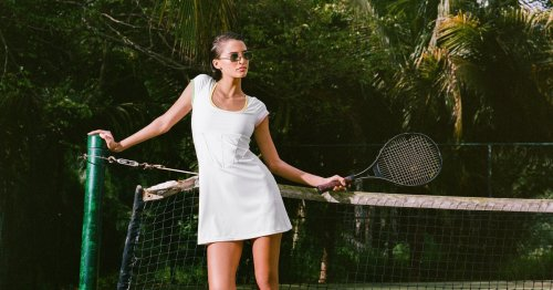 The New Tenniscore Sneakers To Wear With Your Summer Dresses