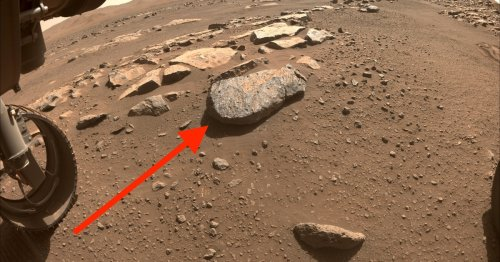 Rochette, you don't have to leave the red planet