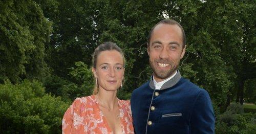 Alizee Thevenet Borrowed Carole Middleton's Wedding Dress & Rocked It