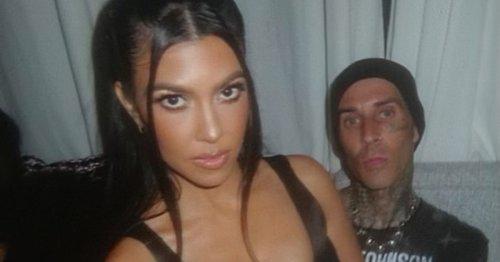 Travis Barker Just Chopped Off Kourtney Kardashian's Hair And It Looks Great