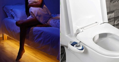 46 Clever Things For Your Bathroom & Bedroom You'll Find You Can't Live Without
