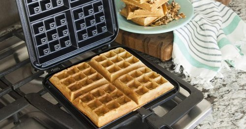 If You Want Perfect, Crispy Waffles, You Need A Stovetop Waffle Iron