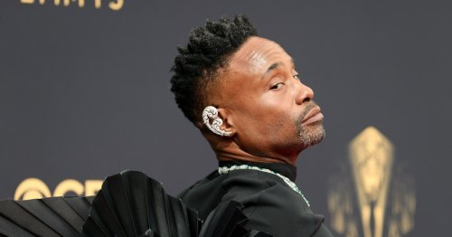Billy Porter's Wings Just Shut Down The Emmys Red Carpet