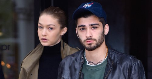 Gigi Shared A Precious Photo & Message For Zayn's First Father's Day