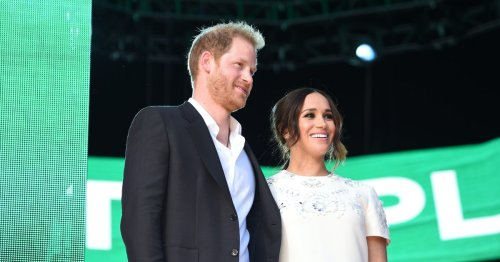 This Tiny Detail In Meghan Markle's Global Citizen Outfit Shouted Out Princess Diana