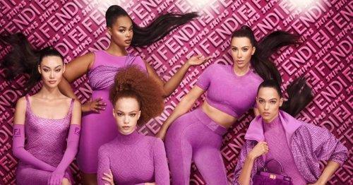 Kim Kardashian's Skims x Fendi apparel collab might break the internet