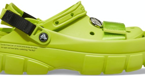 Crocs' latest collab turns its famed clog into a shoe within a shoe