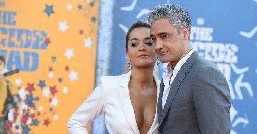 Taika Waititi And Rita Ora Make It Red Carpet Official