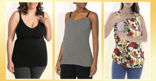 6 Cute Nursing Tank Tops That Will Make Breastfeeding So Much More Convenient