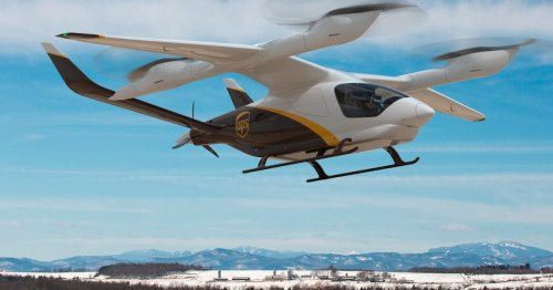 UPS approves purchasing electric vertical aircraft for deliveries