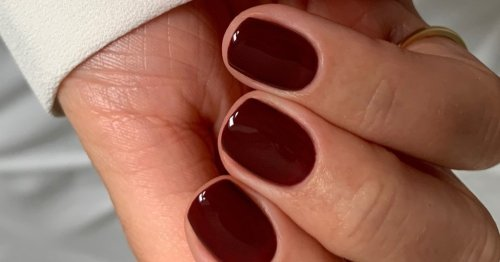 Micro French Tips Is The Only Mani We Want To Wear This Fall