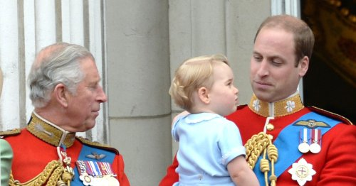 20 Sweet Photos Of Royal Grandfathers Getting A Kick Out Of Their Grandkids