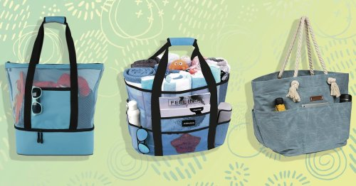These Family Beach Bags Are Roomy, Stylish, And Hold Up To Water And Sand