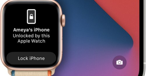 If You Can't Unlock Your iPhone With Your Apple Watch In iOS 14.5, Here's What To Check