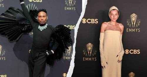 Billy's Wings, Emma's Gloves, & Every Memorable Look From The 2021 Emmys