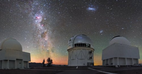 Look — A bright, strange galaxy captured in stunning detail