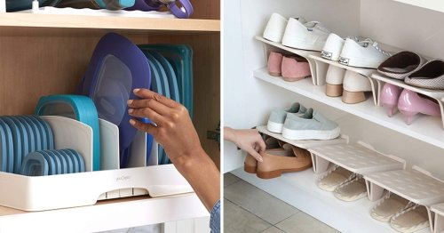 If You Have Too Much Stuff, You'll Love These 40 Genius Organizational Products