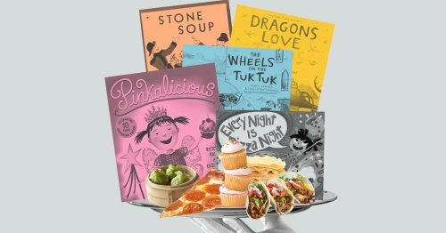 Kids Are Learning About Food In Almost Every Book We Read Them