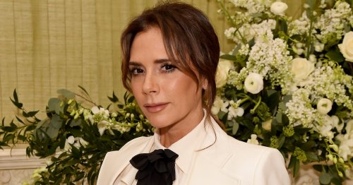 Victoria Beckham Was Snapped With An Adorable Newborn Baby
