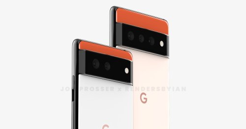 If this is the Pixel 6, Google is coming out swinging