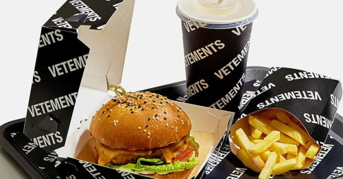 Vetement's 'fashion' burger and fries definitely won't make the Dollar Menu