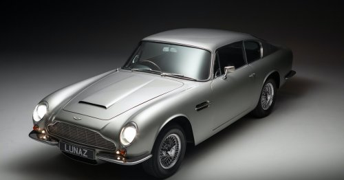 Aston Martin's DB6 retrofitted with electric internals is a thing of beauty