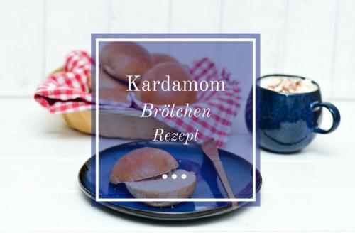 Fluffige Brötchen mit Kardamom - leckeres skandinavisches Rezept