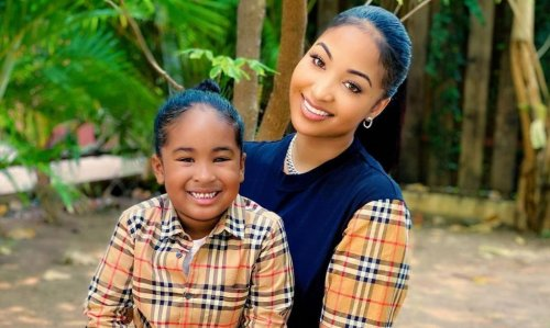 Shenseea reunites with son for Mother's Day