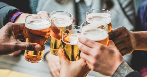 Outdoor pints and food could be back on the beer-garden table as early as next month