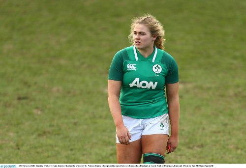 Ireland v Wales: Dorothy Wall opens up about Six Nations clash