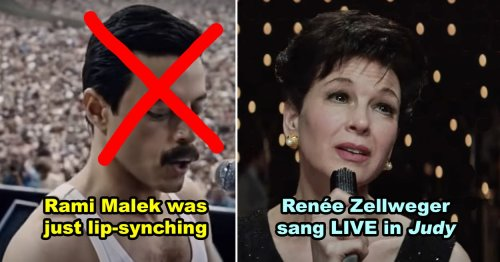 13 Actors Who Tricked You — And 12 Who Didn't — Into Thinking They Actually Sang In Movies