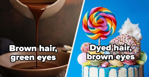 I Bet We Can Guess Your Eye And Hair Color With 95% Accuracy Based On The Cake You Design