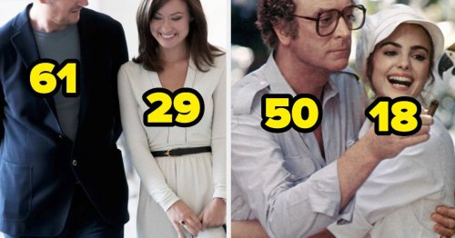 50 Age Gaps Between Actors Playing Couples That Are Honestly Really Weird