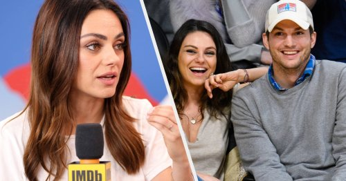"""Mila Kunis Revealed She """"Regrets"""" Making Ashton Kutcher Sell His $200,000 Ticket To Space Because She Was """"Selfish And Hormonal"""" After Just Giving Birth"""